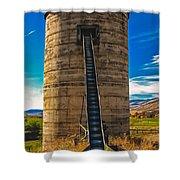 Farm Silo Shower Curtain