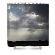 Farm Sunbeams Shower Curtain