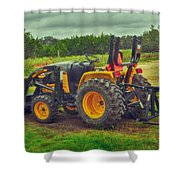 Farm Tractor Shower Curtain