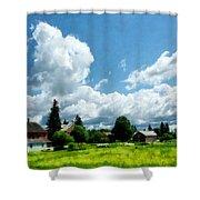 Farm Vista Shower Curtain