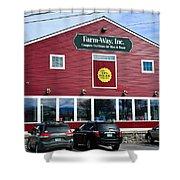 Farm- Way  Www.vermontgear.com Shower Curtain