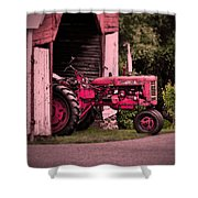 Farmall 200 Shower Curtain by Robert Geary