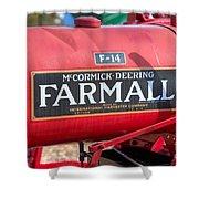 Farmall F-14 Tractor I Shower Curtain