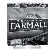 Farmall F-14 Tractor II Shower Curtain