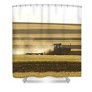 Farmer Working Shower Curtain