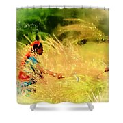 Farmers Fields Harvest India Rajasthan 1a Shower Curtain