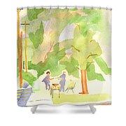 Farmers Market Vll Shower Curtain