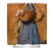 Farmer's Wife Shower Curtain