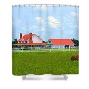 Farmhouse Shower Curtain
