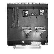 Farmhouse Washroom, 1936 Shower Curtain
