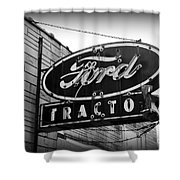 Farming - Ford Tractors Shower Curtain