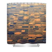 Farming In The Sky 2 Shower Curtain
