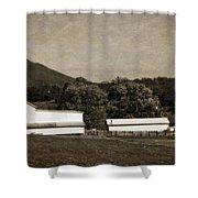 Farming The Shenandoah  Shower Curtain