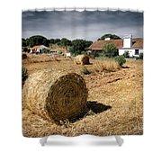Farmland Shower Curtain by Carlos Caetano