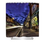 Farnham West St By Night Shower Curtain