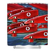 Farrari Nose Cones Shower Curtain