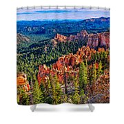 Farview Point Shower Curtain