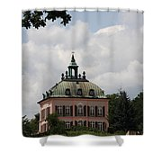 Fasanen Schloesschen Germany    Pheasant Palace  Shower Curtain