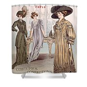 Fashion Advert For Eloy Mignot Shower Curtain