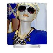 Fashion Cap Shower Curtain