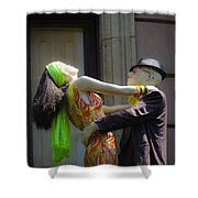 Fashion Dolls Dancing Shower Curtain