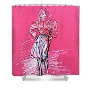 Fashion Figure Shower Curtain