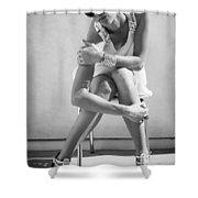 Fashion Instinct Bw Palm Springs Shower Curtain by William Dey