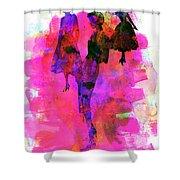 Fashion Models 1 Shower Curtain