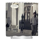 Fashion On The Street Shower Curtain by Dan Sproul