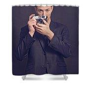 Fashion Photographer Shower Curtain