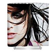Fashion Shot Shower Curtain