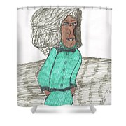 Fashion Style Four Shower Curtain