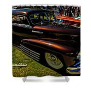 Fastback In Kandy Shower Curtain