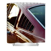 Fastback Shower Curtain