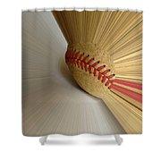 Fastball Shower Curtain