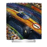 Fastcar Shower Curtain