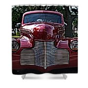 Fat Chevy Shower Curtain