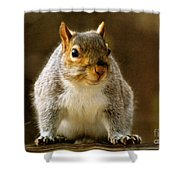 Fat 'n Sassy Smile Shower Curtain
