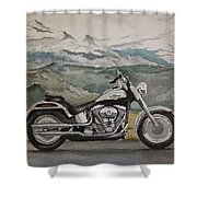 Fatboy Shower Curtain