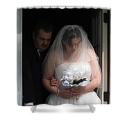 Father Daughter Thoughts Shower Curtain