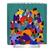Fatherhood Shower Curtain