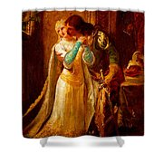 Faust And Gretchen Shower Curtain