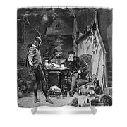 Faust And Mephistopheles Shower Curtain