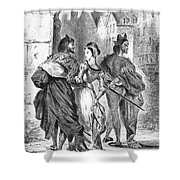 Faust: Mephistopheles 1828 Shower Curtain