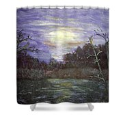 Favorite Fishing Spot In Brainerd Minnesota  Shower Curtain