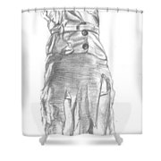 Fay Wray Shower Curtain