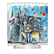 Fcporto In Vila Cha Shower Curtain