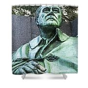 Fdr - 3164 Color Drawing Hp Shower Curtain