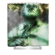 Fdr - 3164 Traveling Pigments Hp Shower Curtain