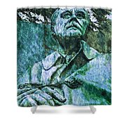 Fdr - 3164 Watercolor 2 Hp Shower Curtain